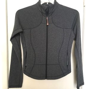 Lululemon Full Zipper Gray Jacket